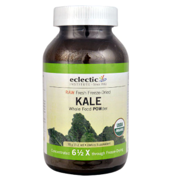 Eclectic Institute RAW Kale Whole Food POWder