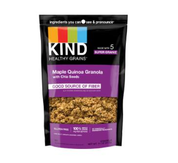 Kind Healthy Grains Clusters Gluten Free Maple Quinoa