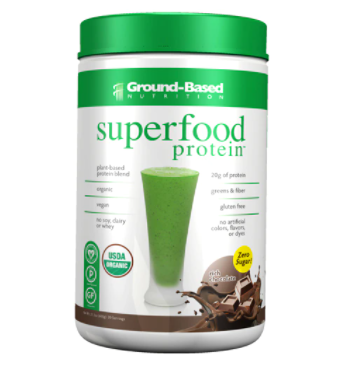 Ground-Based Nutrition Superfood Protein™ Rich Chocolate