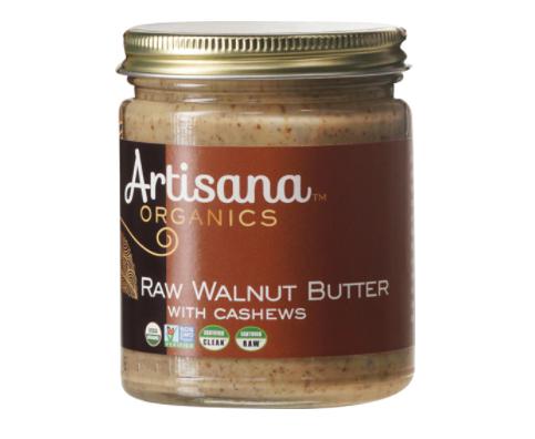 Artisana 100% Organic Raw Walnut Nut Butter with Cashews
