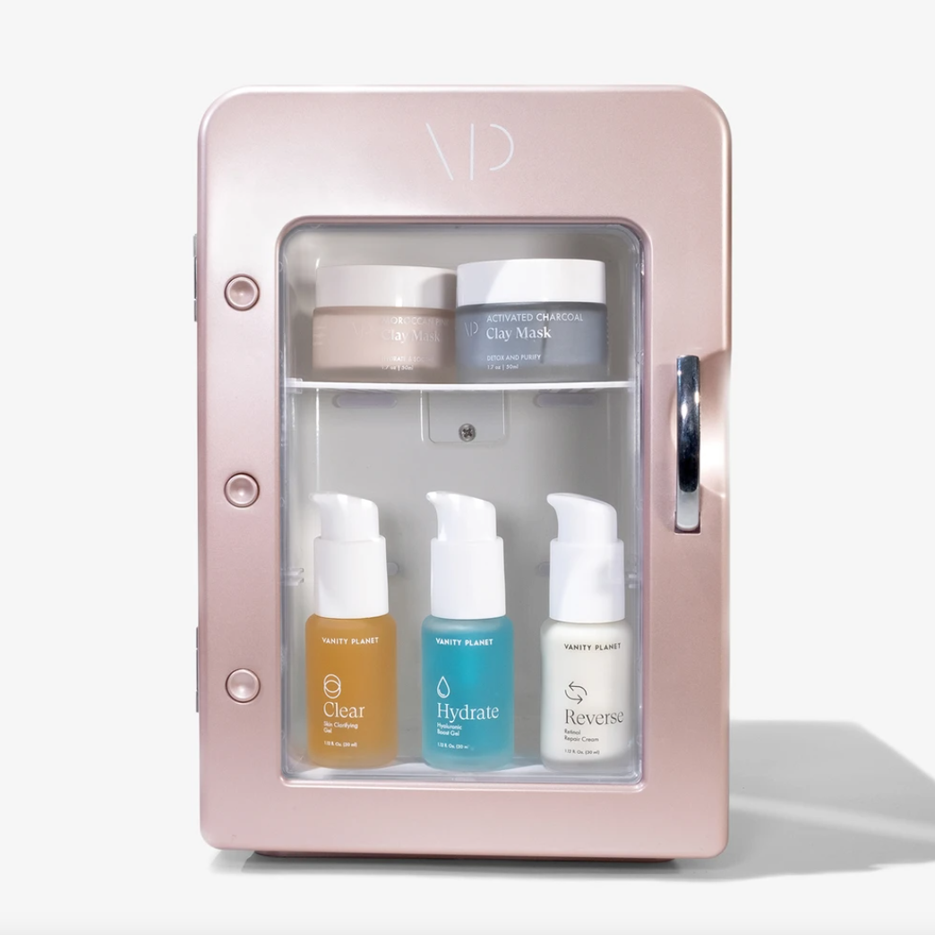 vanity-planet-skincare-fridge-amazon